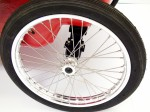 Aluminum Alloy Rims with Stainless Steel Spokes