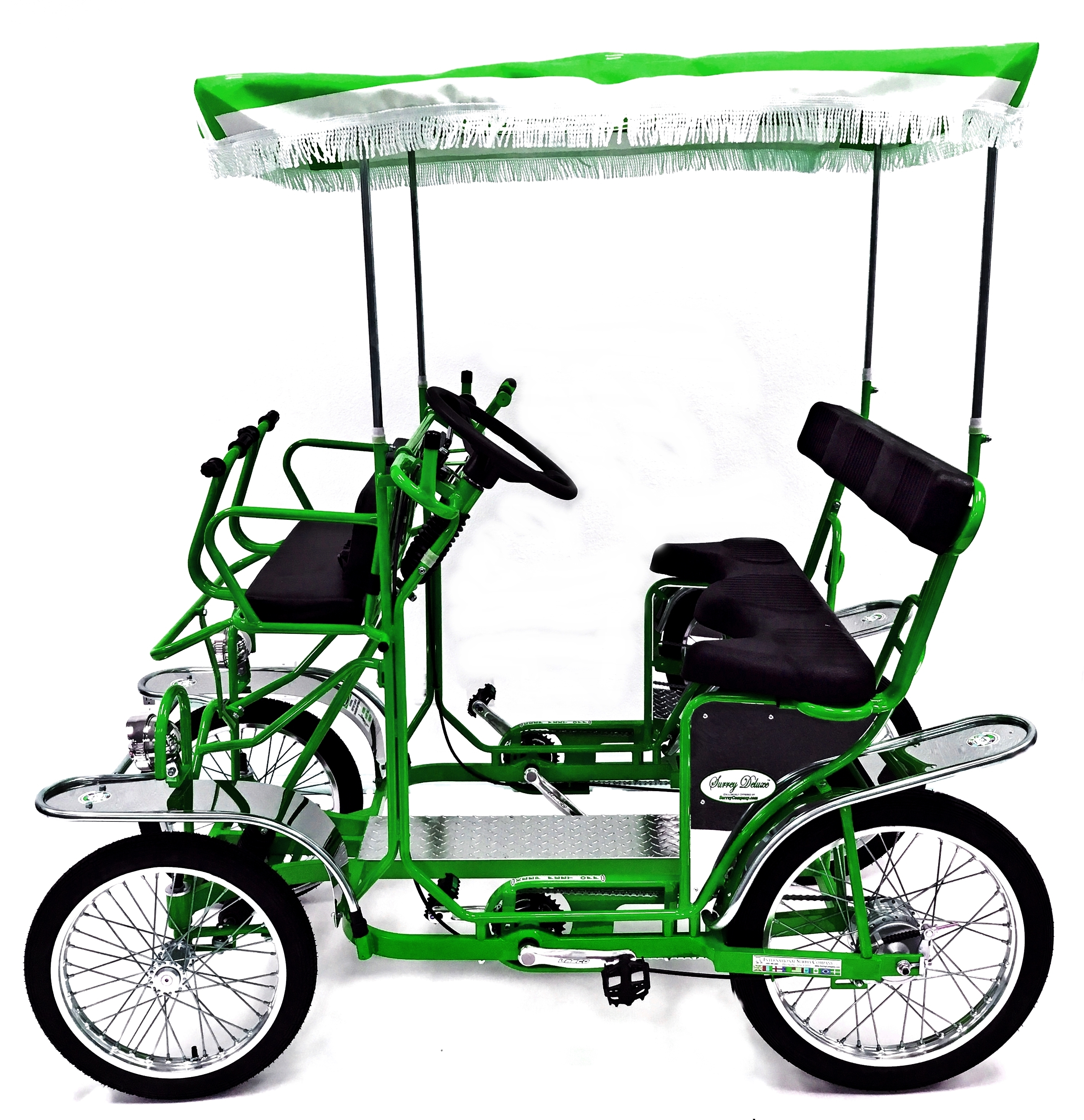 surrey bike four wheel bike 2 4 person bicycle surrey cycle. Black Bedroom Furniture Sets. Home Design Ideas