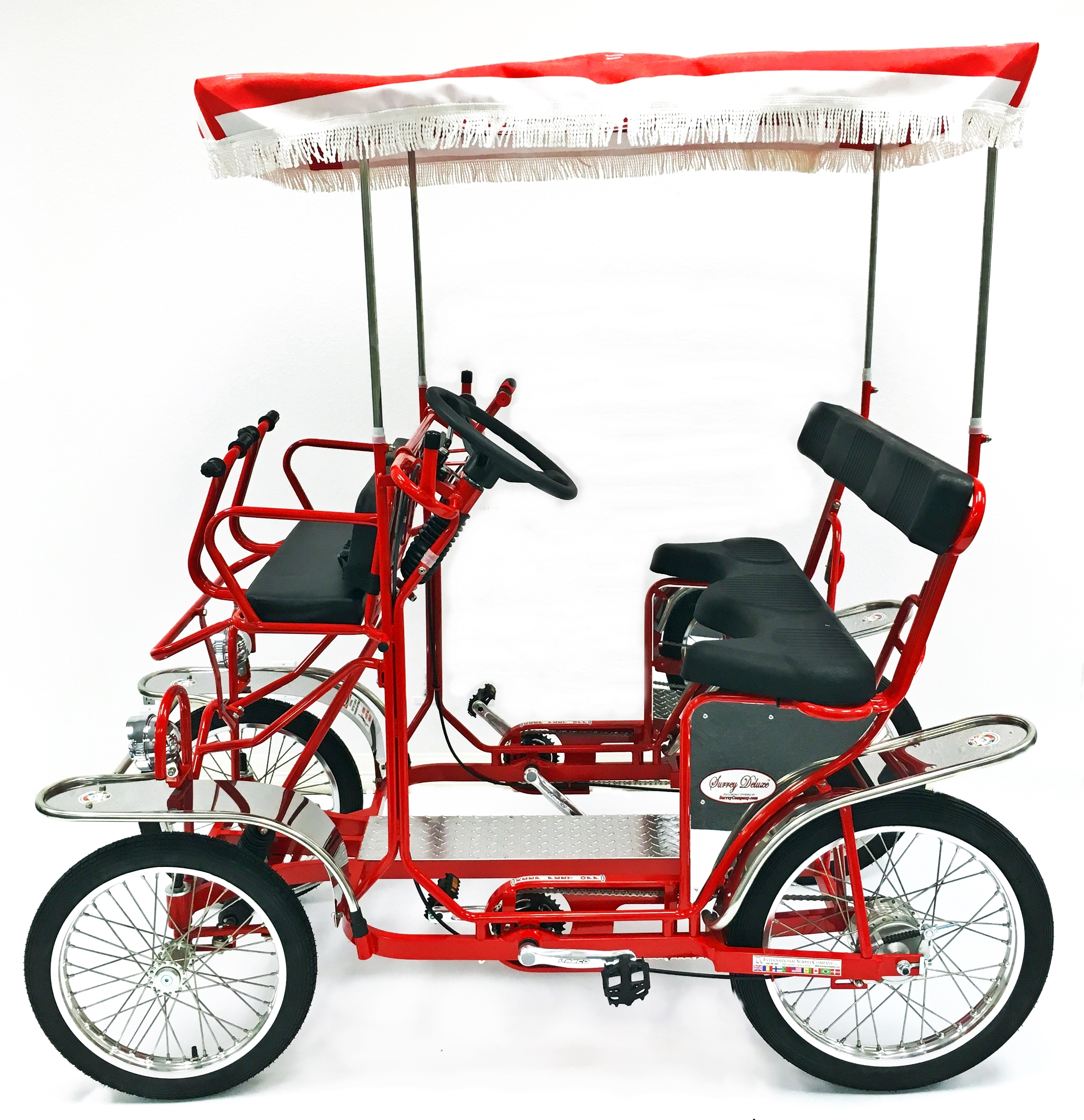 2016 Surrey Deluxe Four Wheel 2 And 4 Person Surrey