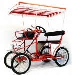 Surrey cycles, Surrey bike, four wheel bicycle, 2 person bike, 4 person bicycle