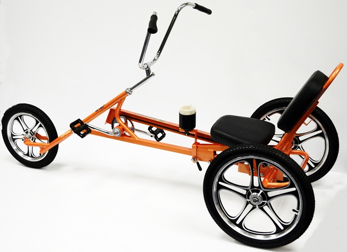 Slingshot Recumbent Trike Four Wheel 2 And 4 Person